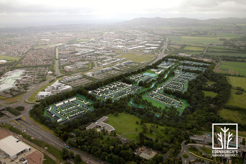 Redheughs Village aerial photo