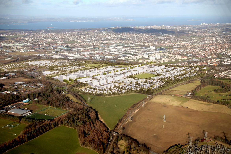 Edinburgh's Garden District Phase 2 - Hermiston Park